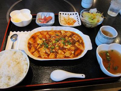 1304麻婆豆腐定食@四川京