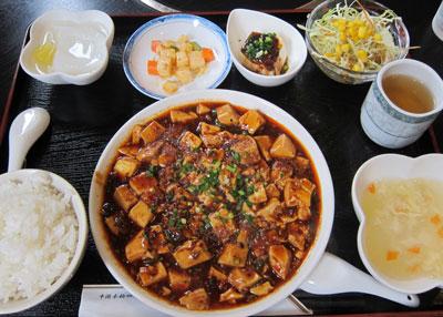 1307麻婆豆腐ランチ