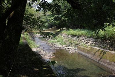 1308清郷の川の様子