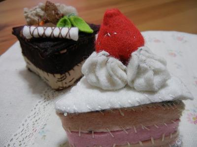 ショートケーキ♪