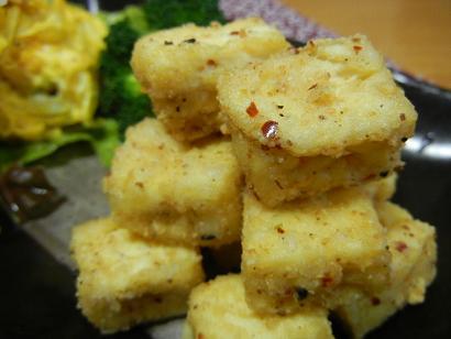 豆腐ピリ辛1