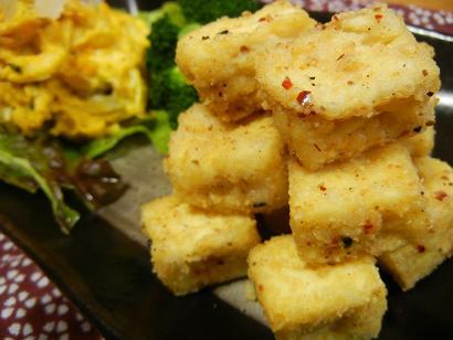豆腐のピリ辛2