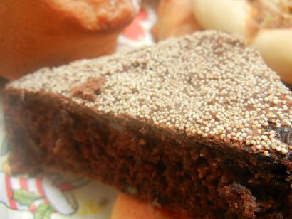 黒蒸しパン