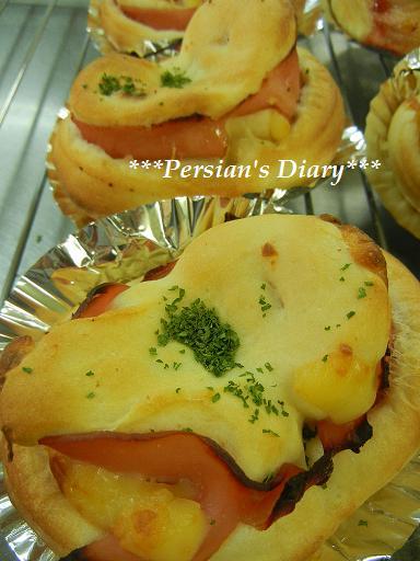ハム&チーズパン♪ジャムパン♪