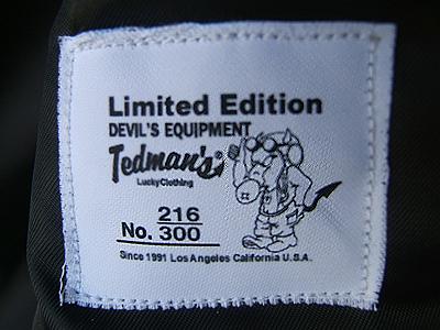 TEDレザーMA-1-4