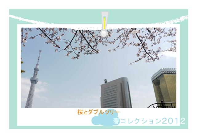 ダブルツリーと桜