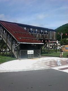 旧本別駅誇線橋
