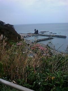 元和台から日本海を臨む