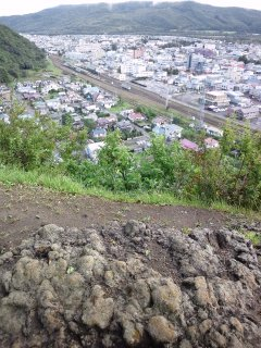 願望岩から遠軽駅