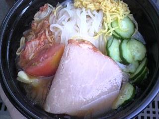 柏戦盛岡冷麺