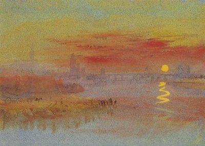 ターナー「日没」