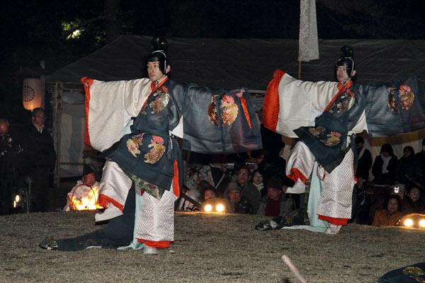 おん祭 舞楽2