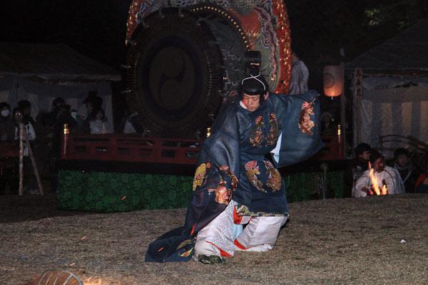 おん祭 舞楽4
