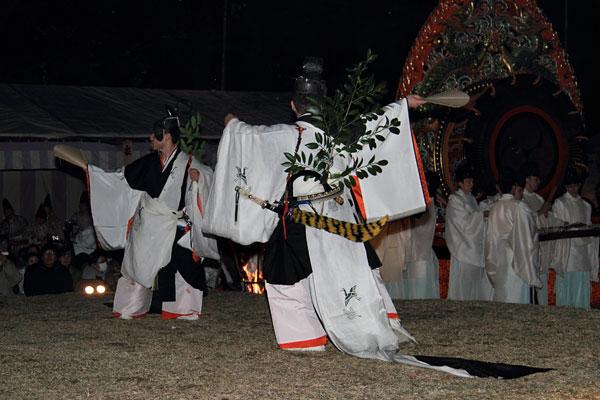 おん祭 舞楽5