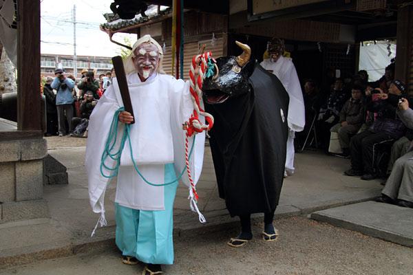 植槻八幡神社 お田植祭り2