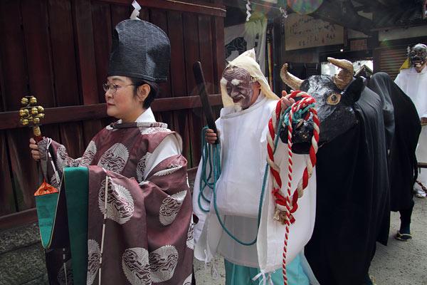 植槻八幡神社 お田植祭り1