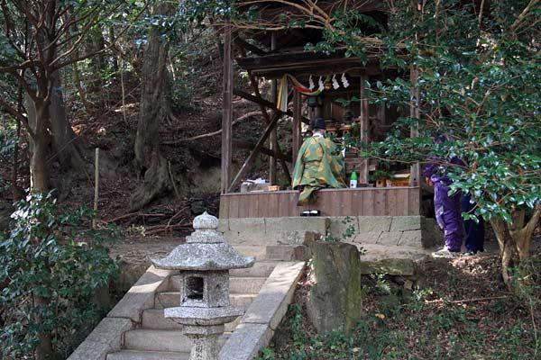 東明寺八坂神社 おんだ祭3