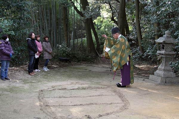 東明寺八坂神社 おんだ祭2