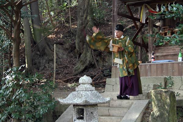 東明寺八坂神社 おんだ祭1