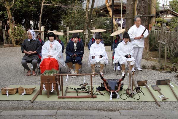 大和神社 御田植祭1