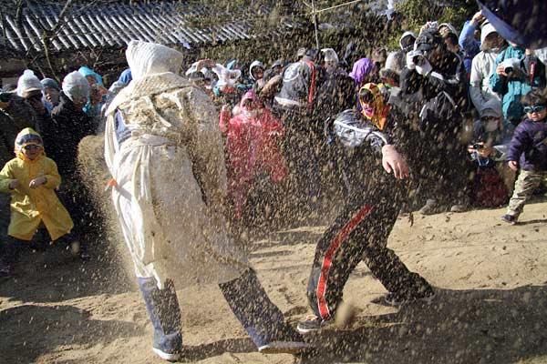廣瀬神社 砂かけ祭2
