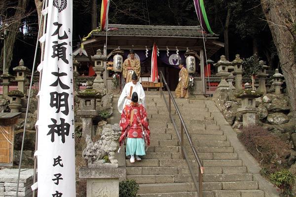 九頭神社 御田祭4