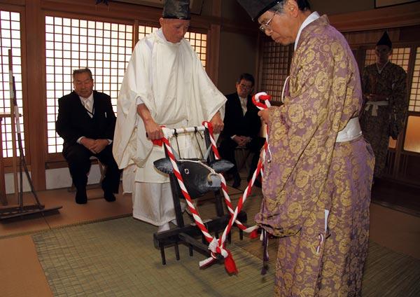 九頭神社 御田祭1