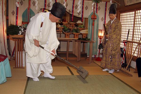 九頭神社 御田祭2
