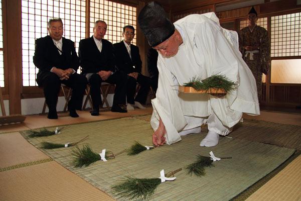 九頭神社 御田祭3