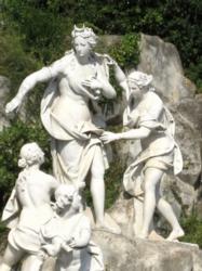 カゼルタ:アルテミス彫刻