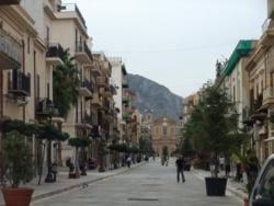 シチリア01バゲリーア街並み
