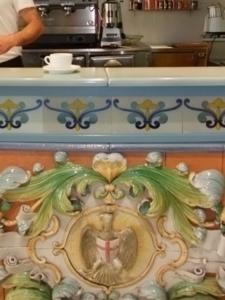 シチリア35カルタジローネ・カフェ