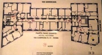 ローマ007ホテルヴィクトリア