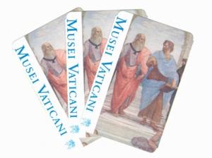ローマ011ヴァチカン美術館チケット
