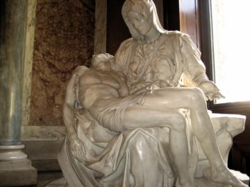 ローマ018ヴァチカン美術館ピエタ