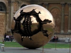 ローマ026ヴァチカン:ピーニャの中庭