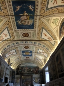 ローマ027ヴァチカン図書館