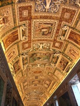 ローマ029ヴァチカン地図のギャラリー