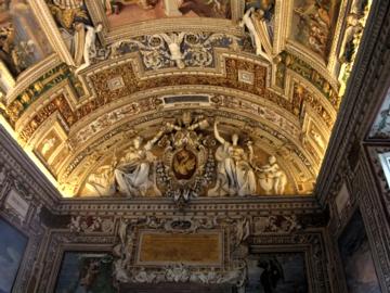 ローマ030ヴァチカン地図のギャラリー