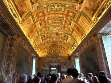 ローマ033ヴァチカン地図のギャラリー