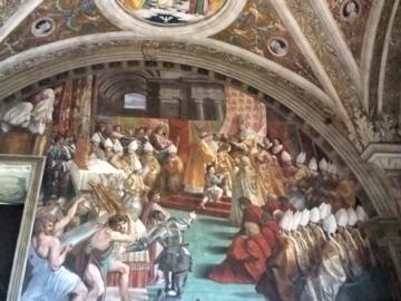 ローマ040ヴァチカンカール大帝の戴冠