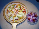 本日のピザ