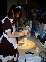 ピザ生地作り~小麦粉の向こうは不思議の世界♪~