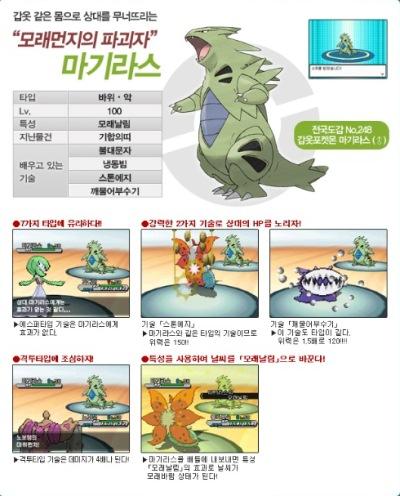 韓国最強 バンギラス