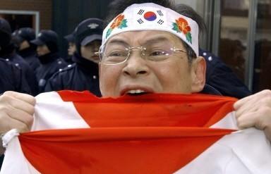②韓国朝鮮人