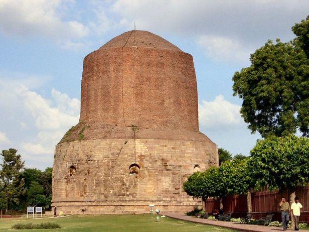 800px-The_biggest_stupah_in_Sarnathダメーク・ストゥーパ