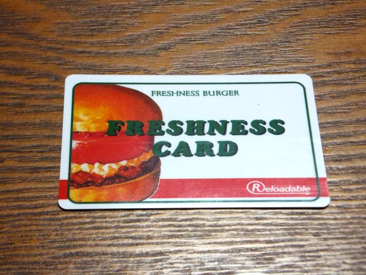 フレッシュネスカード