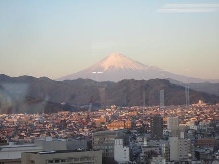 富士山茜色