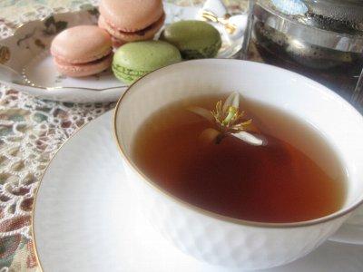 レモン花紅茶