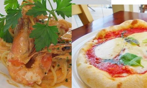 パスタandピザ